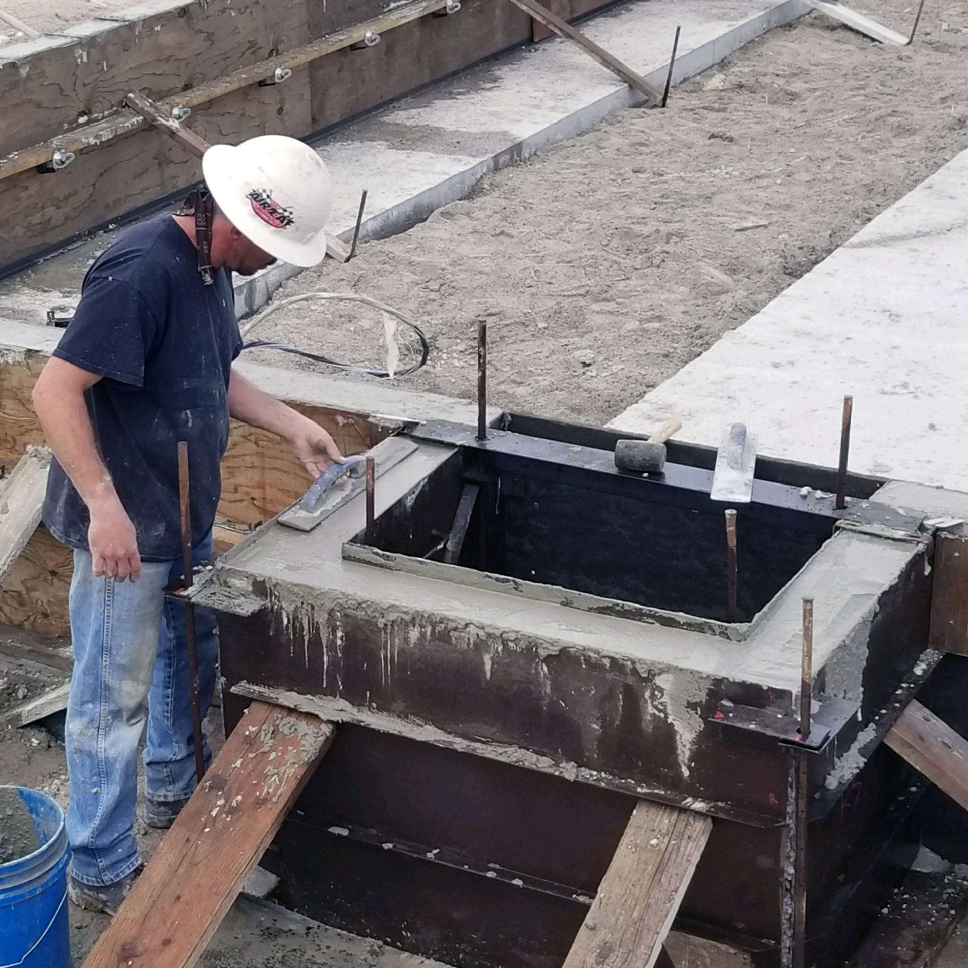 Concrete Building Foundation