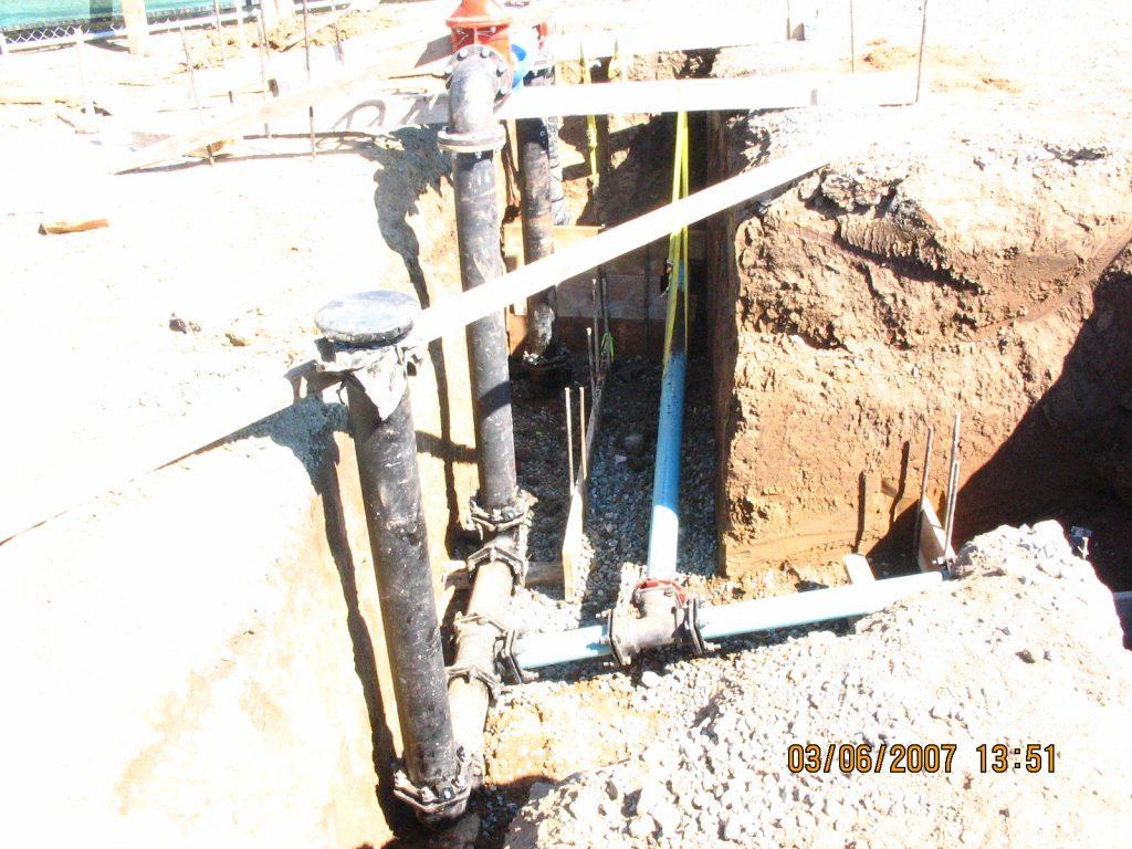 Fire Line Repair