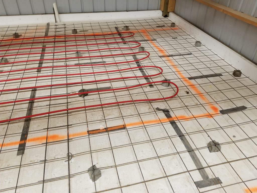 Radiant Hydronic Floor Heating Pad