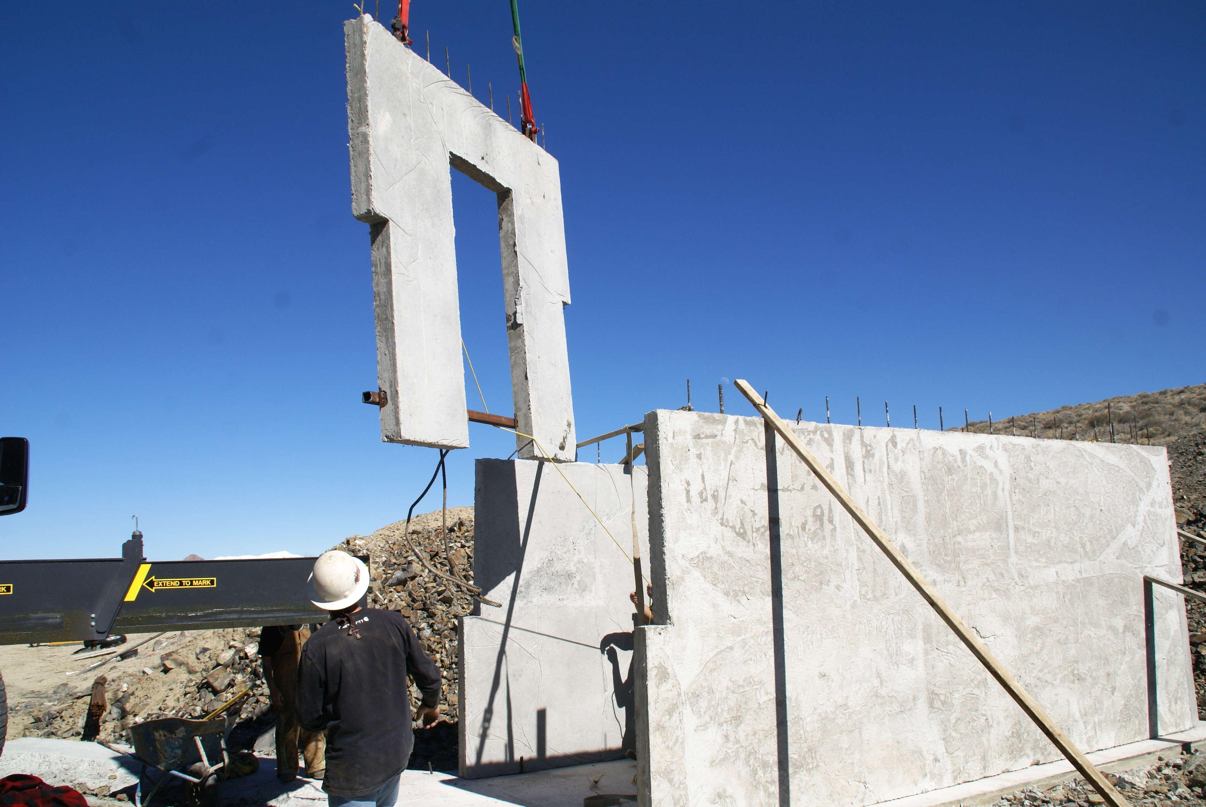 Precast Concrete Bunker
